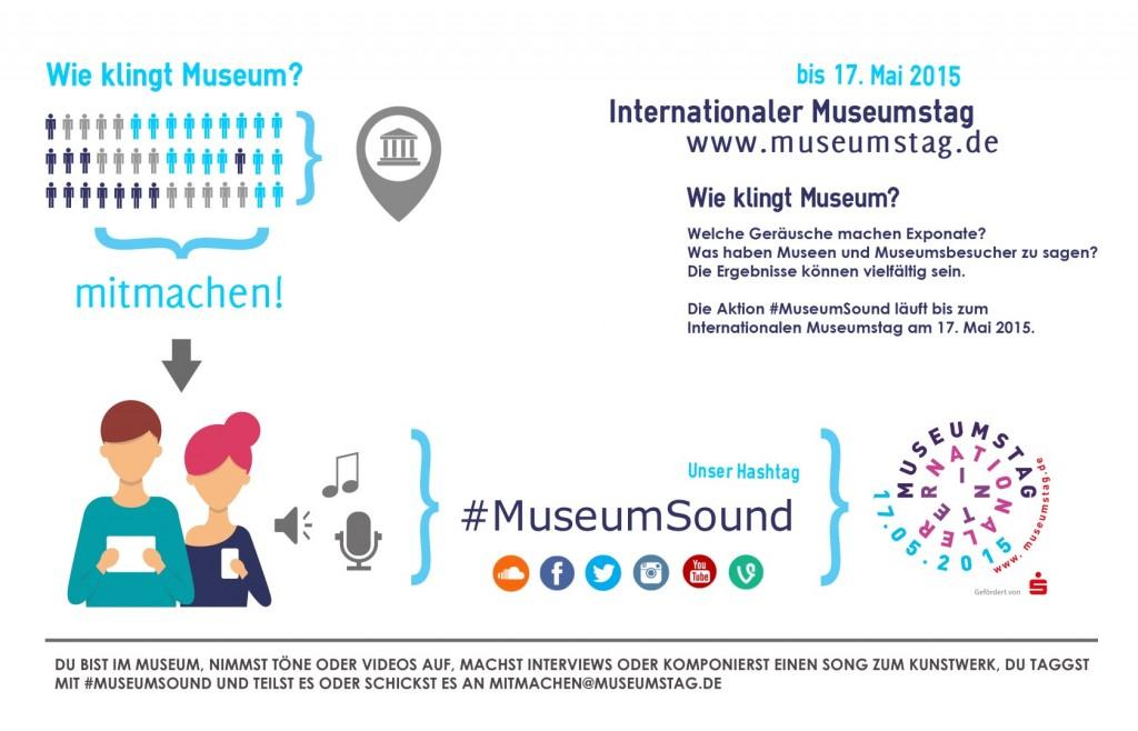 historisches museum frankfurt: Plakat zum #IMT15 #MuseumSound