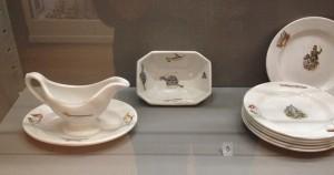 historisches museum frankfurt: das Kindergeschirr im Museum für Wohnkultur Basel
