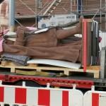 historisches museum frankfurt: Karl der Große ist wieder da. Foto: K. Meis