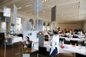 historische museum frankfurt: Die von Stefanie Kösling fotografierten Autoren-Porträts waren erstmals zu sehen.