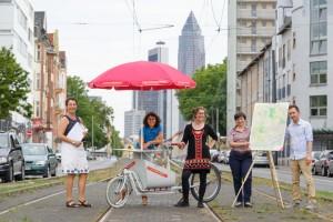 Dauerausstellung Frankfurt Jetzt! / Frankfurt-Modell. Sommertour von Juni bis September 2015 -Stop Motion 27.08.15