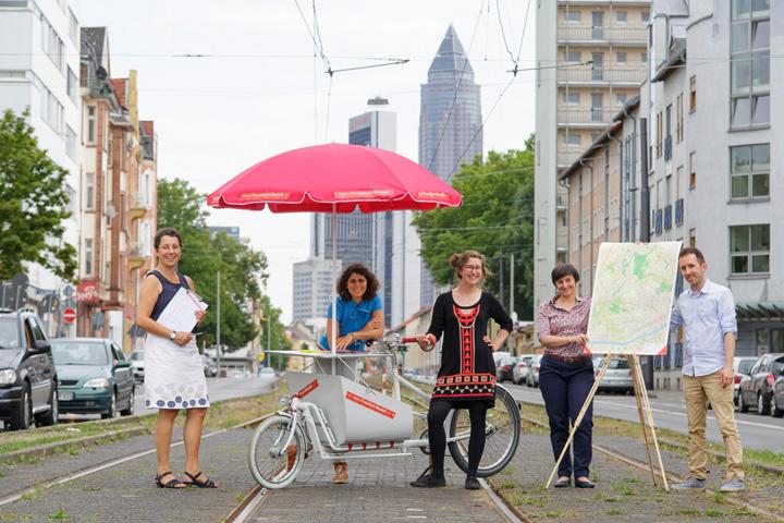 historisches museum frankfurt: Frankfurt Jetzt Team auf Sommertour