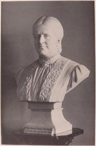 historisches museum frankfurt: Porträtbüste der Hannah-Louise von Rothschild von Gustav Martin Herold (1839-1927)