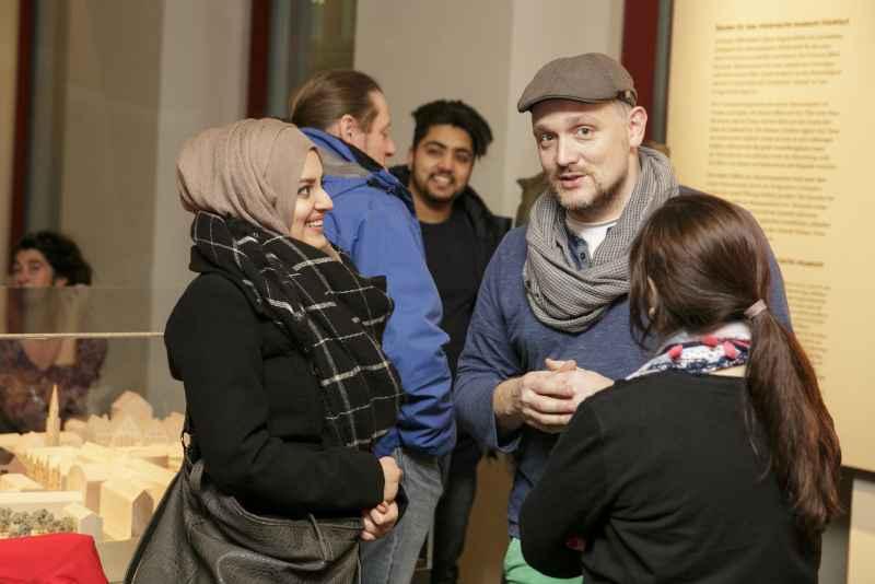 historisches museum frankfurt: Lesung Frankfurt Live!, 9.3.2016