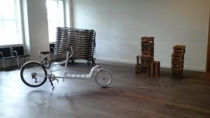 historisches museum frankfurt_Aufbau_Pop-Up-Ausstellung Sommertour 2015