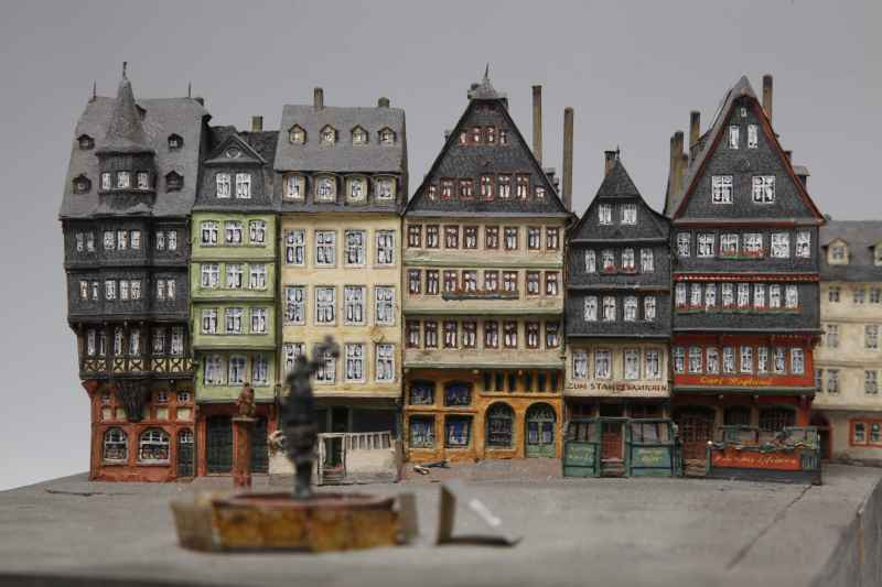 historisches museum frankfurt: Die Altstadt im Modell von  Hermann und Robert Treuner, 1925-1961