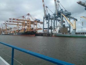 historisches museum frankfurt: Container harbour Bremerhaven