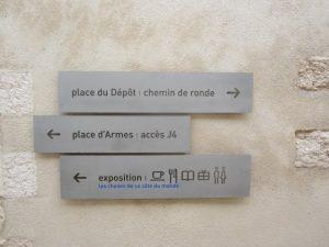 historisches museum frankfurt: signaletik im MuCem, Marseille