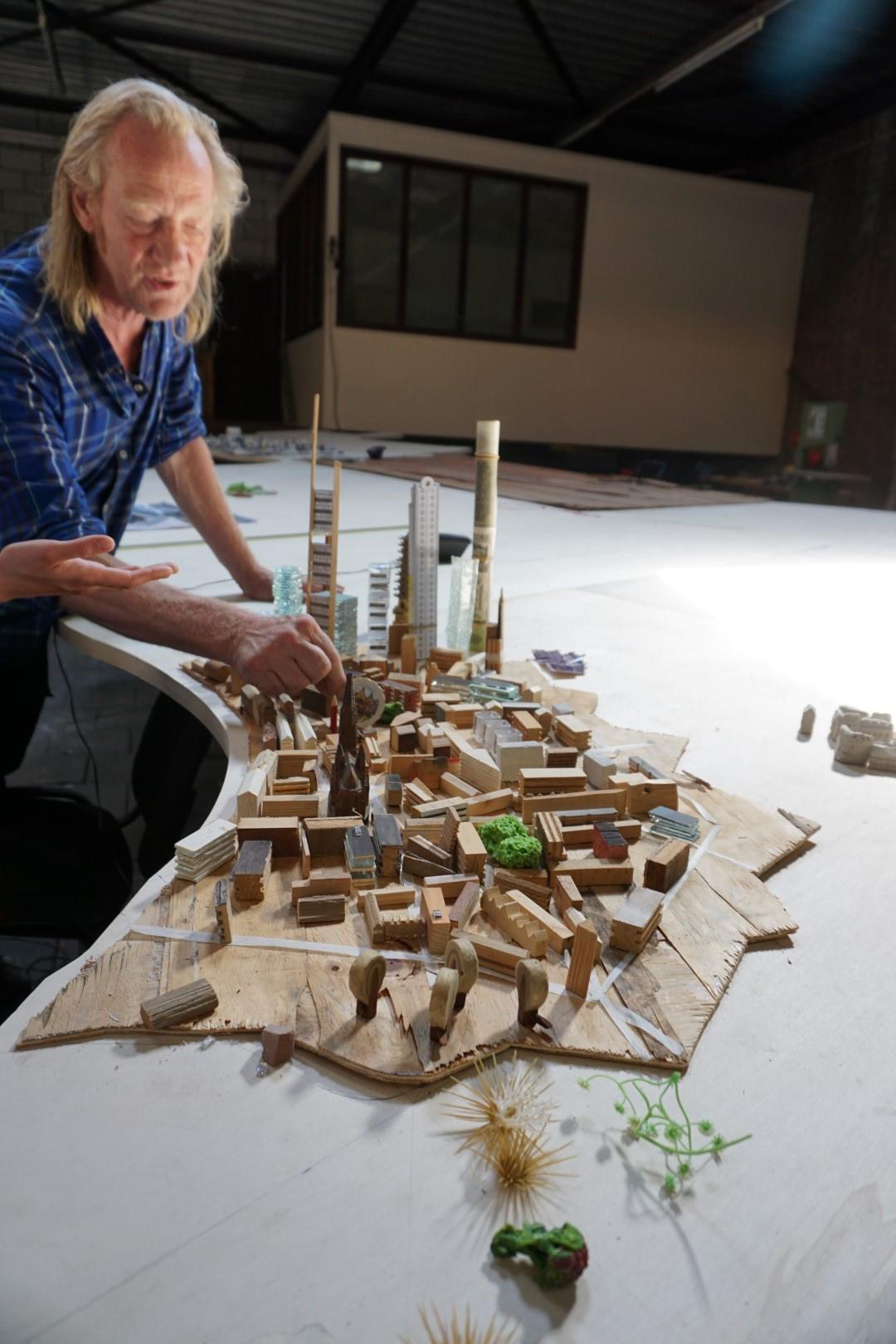 historisches museum frankfurt: Die Innenstadt ist schon angedeutet