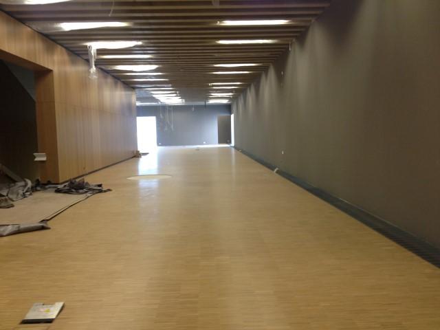 historisches museum frankfurt: im neuen Ausstellungshaus: hier kommt 100 x Frankfurt hin