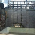 historisches museum frankfurt: im neuen Ausstellungshaus. Blick vom Belvedere