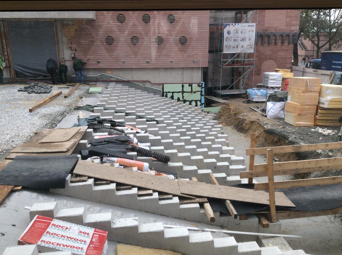 historisches museum frankfurt: ich bin eine Treppe!