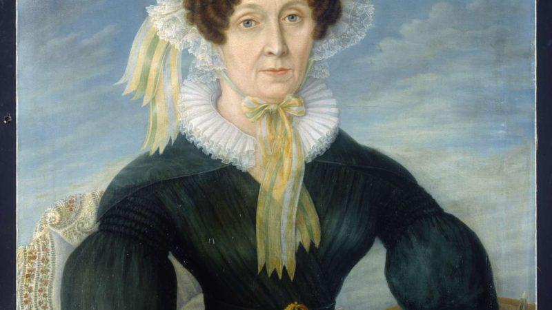 historisches museum frankfurt: Ursuala Magdalena Reinheimer - Selbstporträt, B1074