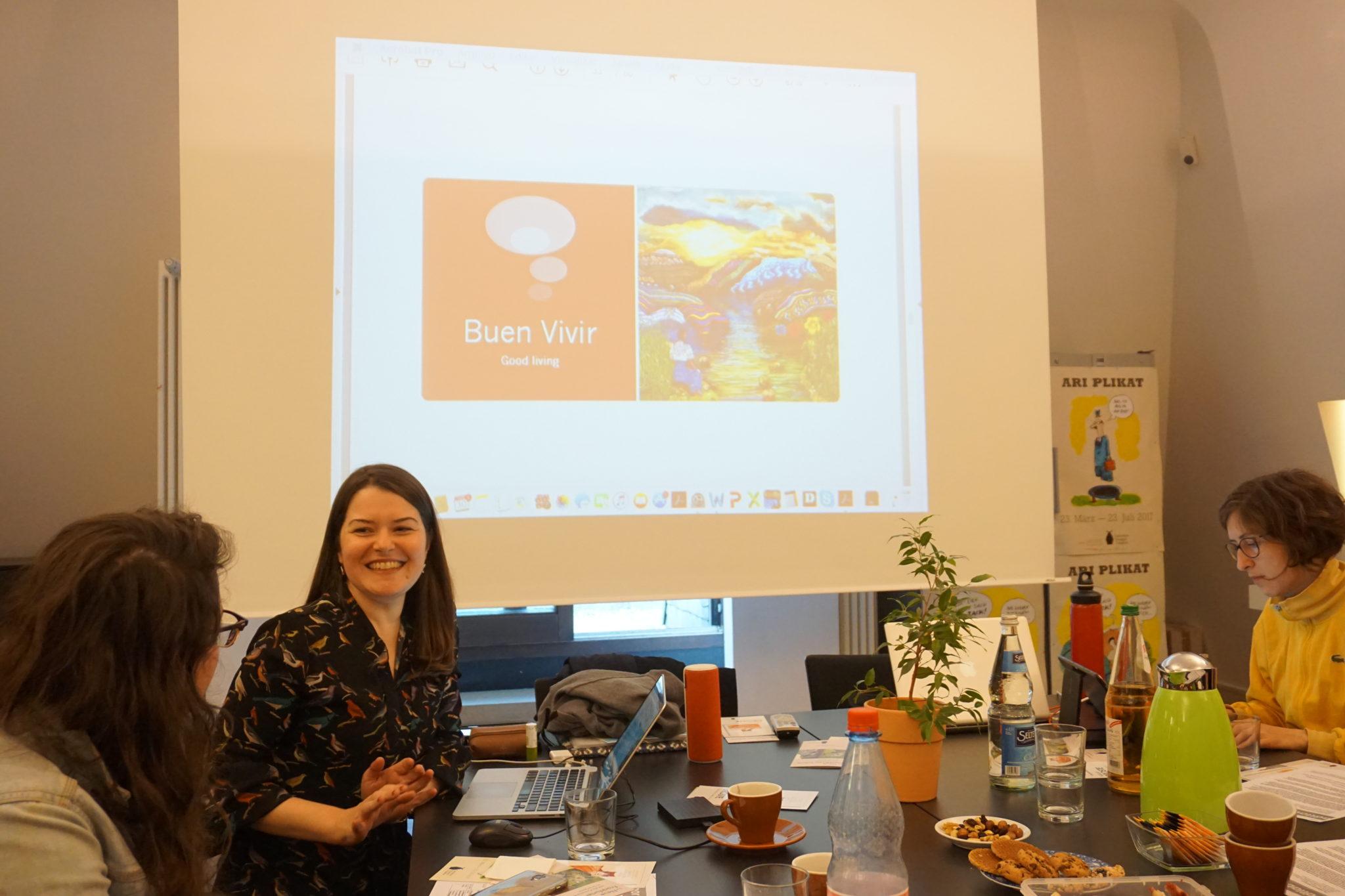 Third workshop with Juliana de Siqueira, March 2017