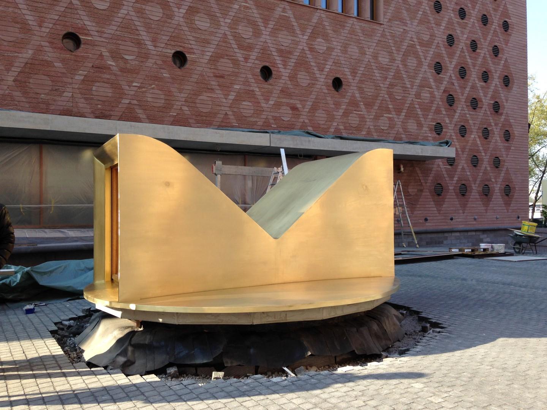historisches museum frankfurt: Die Anlieferung des Persikops 11