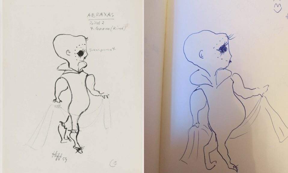 """Eintrag im Besucherbuch von """"Rudi's Bilder"""""""