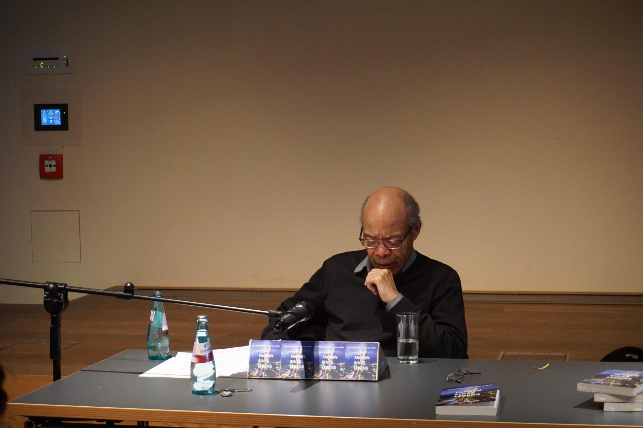 historisches museum frankfurt: Lesung mit Donald Vaughn, Foto: A. Dori