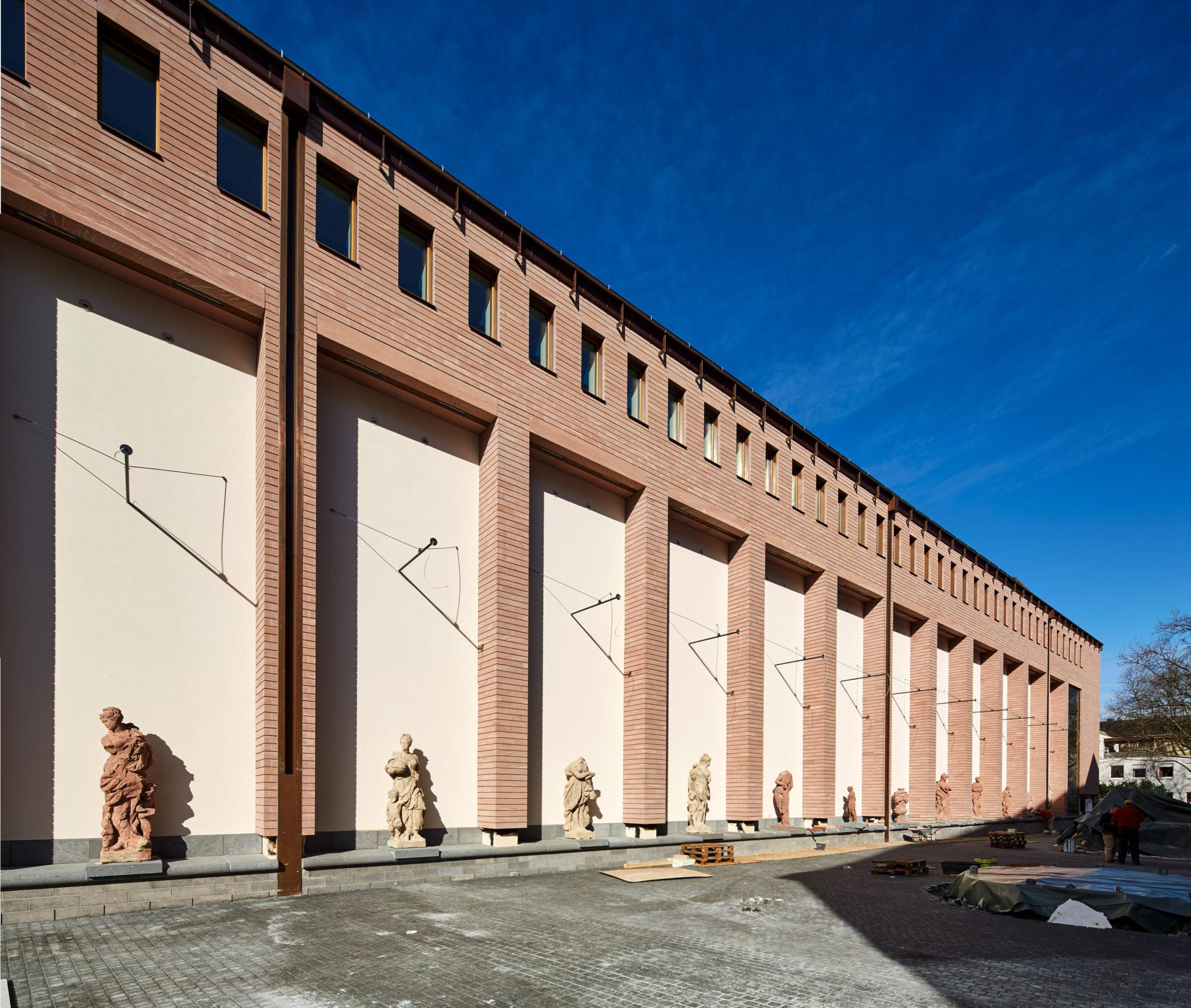 Skulpturengalerie Fassade Ausstellungshaus © HBA