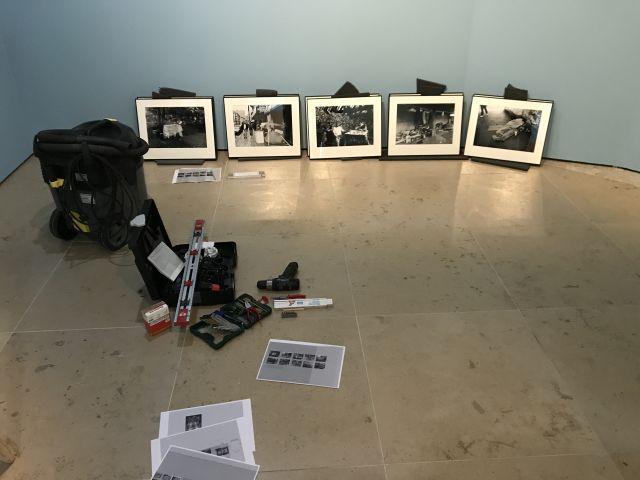 historisches museum frankfurt: Ausstellung Ganter - Aufbau Details