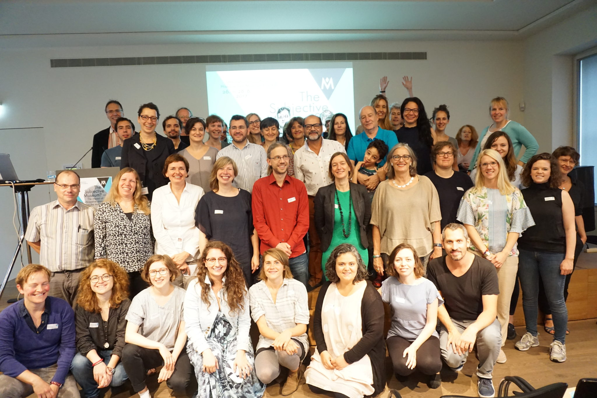 historisches museum frankfurt: the subjective Museum - group photo at the last day of the conference. Thank you!