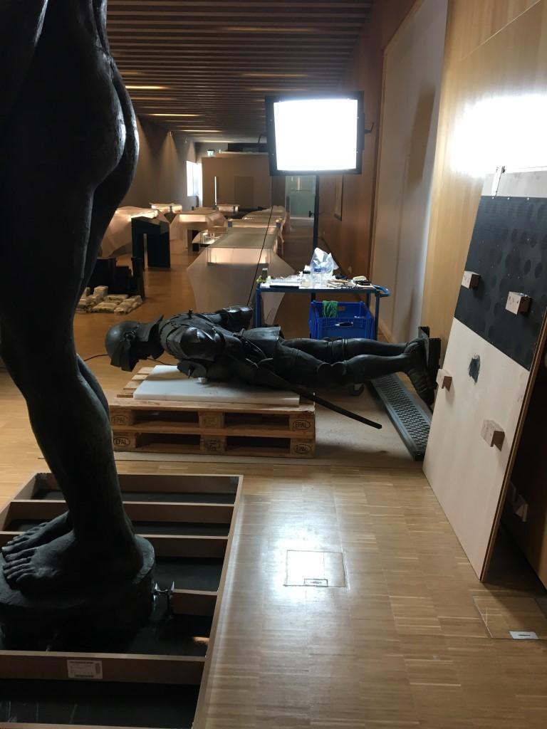 historisches museum frankfurt: auf Level 2 warten die Objekte auf den Einsatz