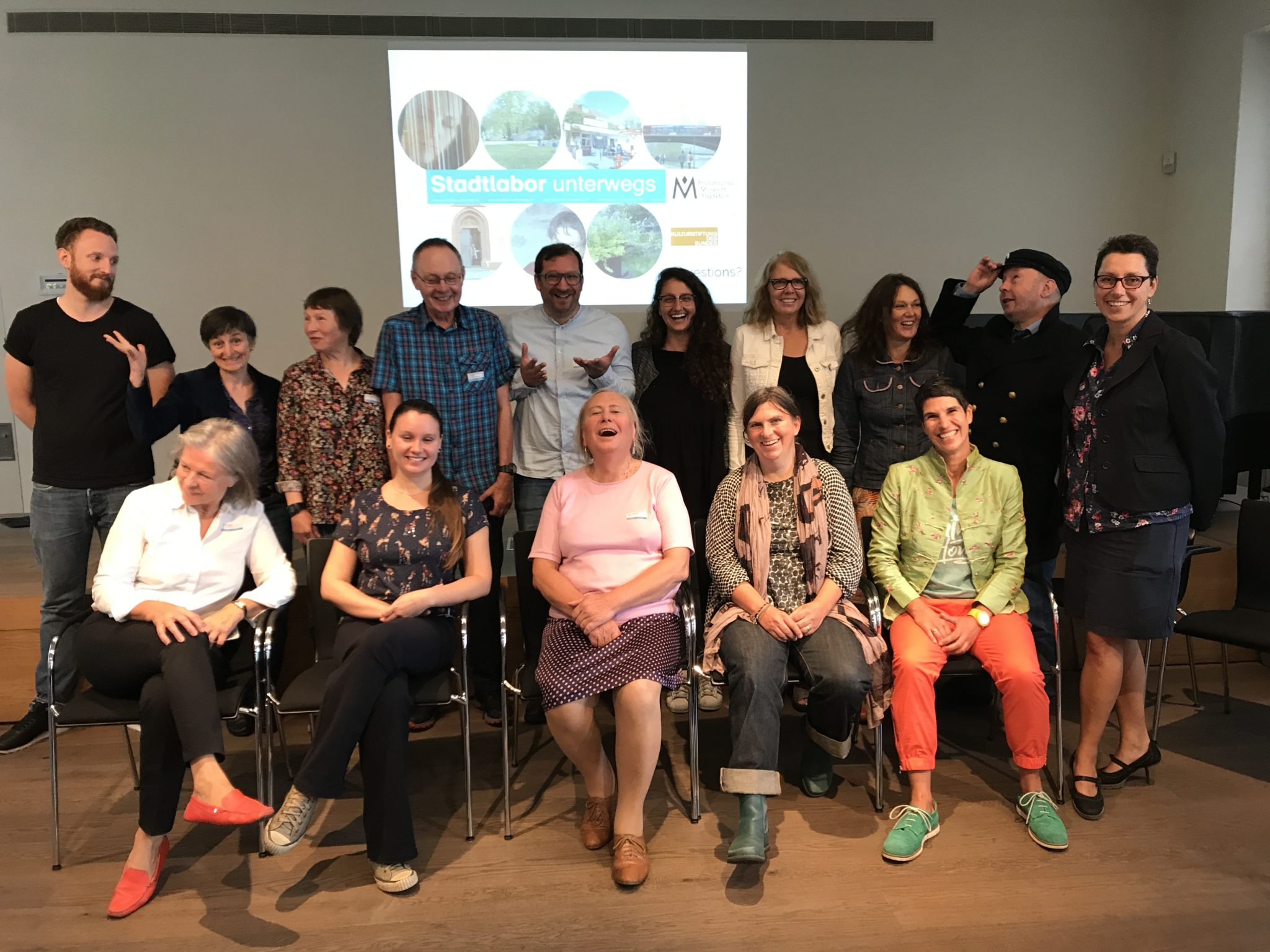 Group photo of Stadtlabor 2017 (12.08.2017)