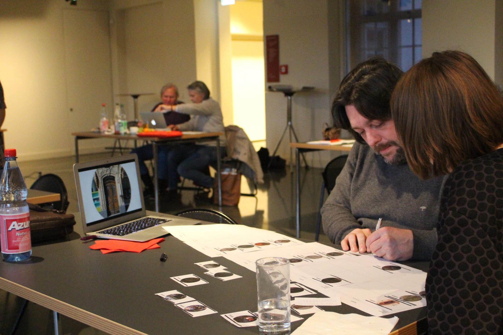 Stadtlaboranten/innen prepare their editind concept at editing workshop