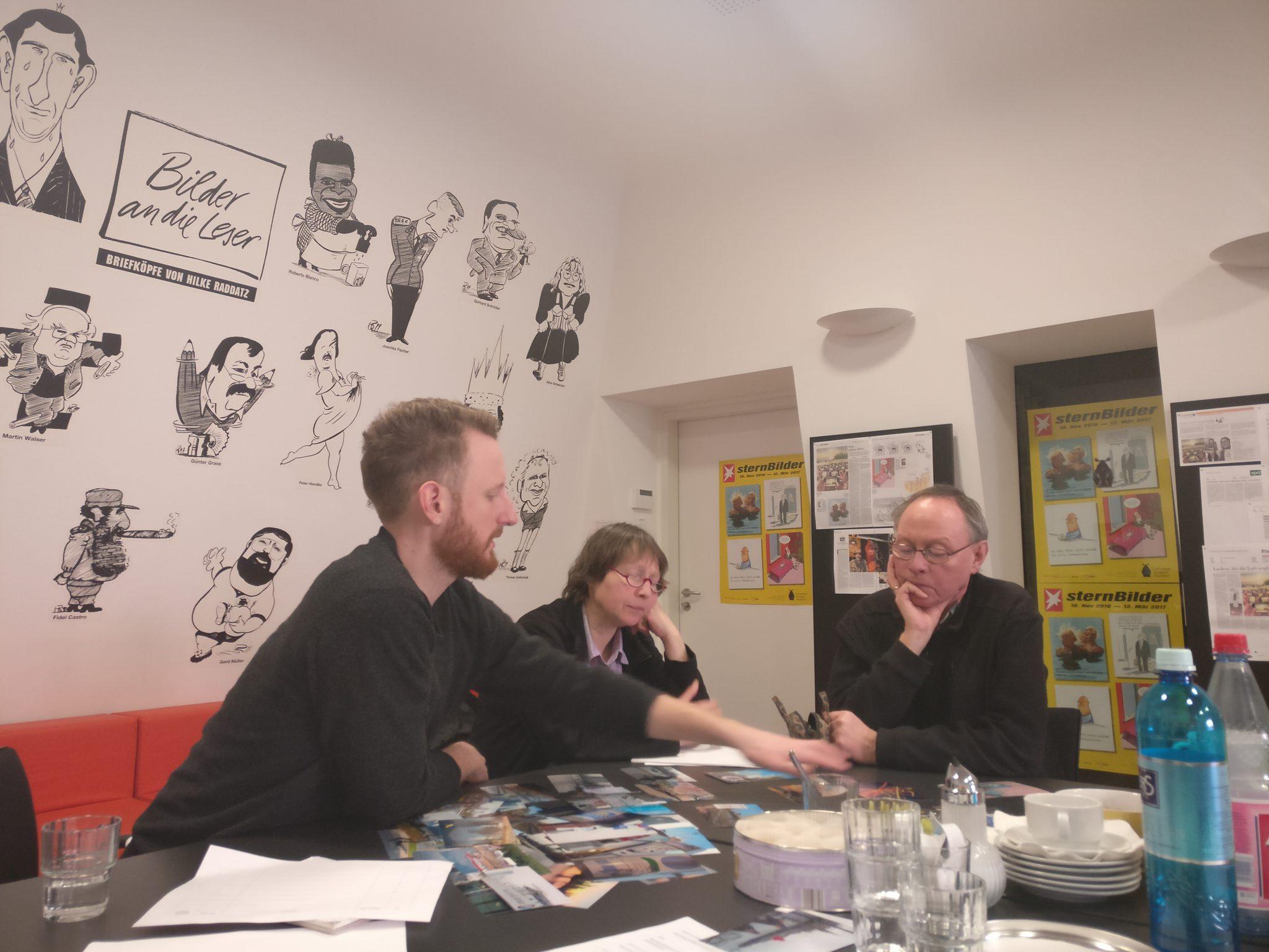 Script consulting with Julian Vogel and the Stadtlaboranten/innen