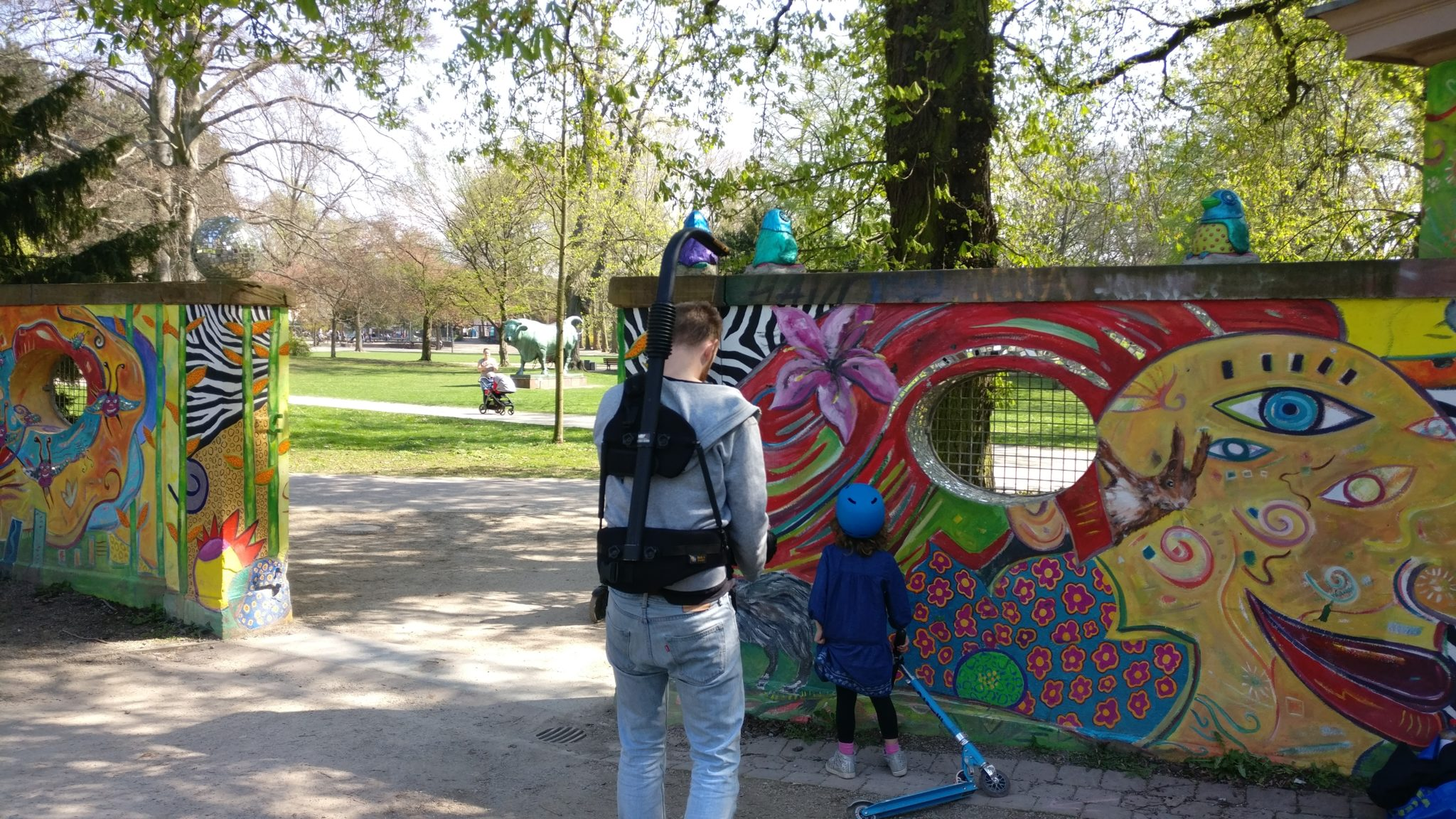 Shooting day at the Günthersburgpark (03.04.2017)