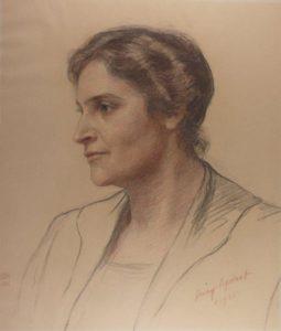 Porträt von jenny APPOLANT