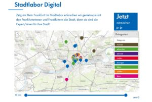 Historische Museum Frankfurt – Stadtlabor Digital Startseite