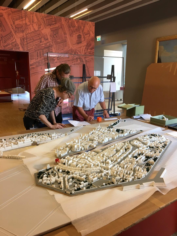 Historisches Museum Frankfurt: Frankfurt Einst? - Das Merianmodell in 3 D wird finalisiert