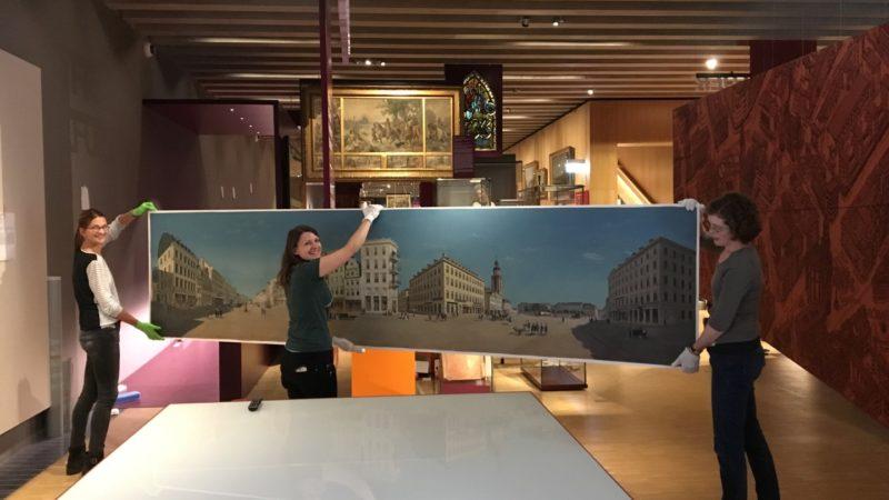 Historisches Museum Frankfurt: Frankfurt Einst? - Das Zeil-Panorama hat einen ersten Auftritt