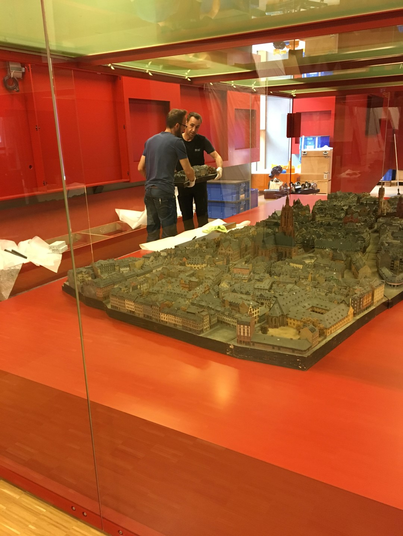 Historisches Museum Frankfurt: Frankfurt Einst? Das Altstadt-Modell kommt in die Vitrine