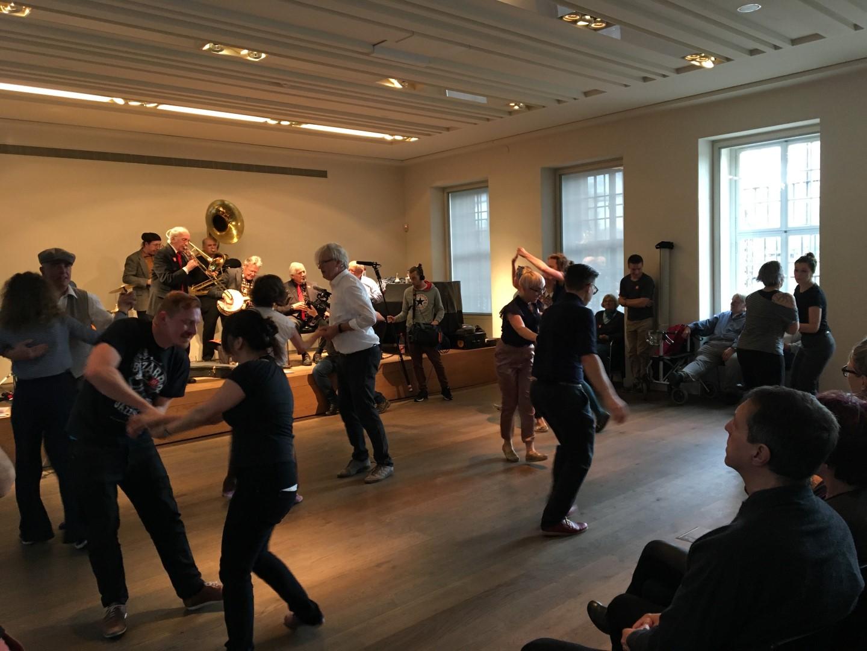 Historisches Museum Frankfurt: Jazz + Lindy Hop