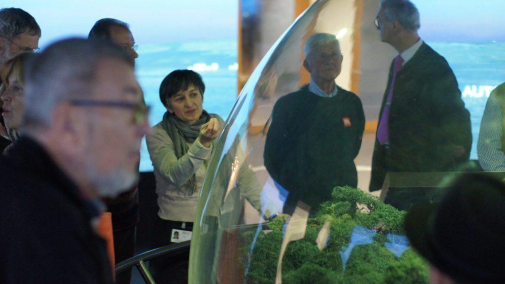 historisches museum frankfurt: Führung bei der Schneekugel
