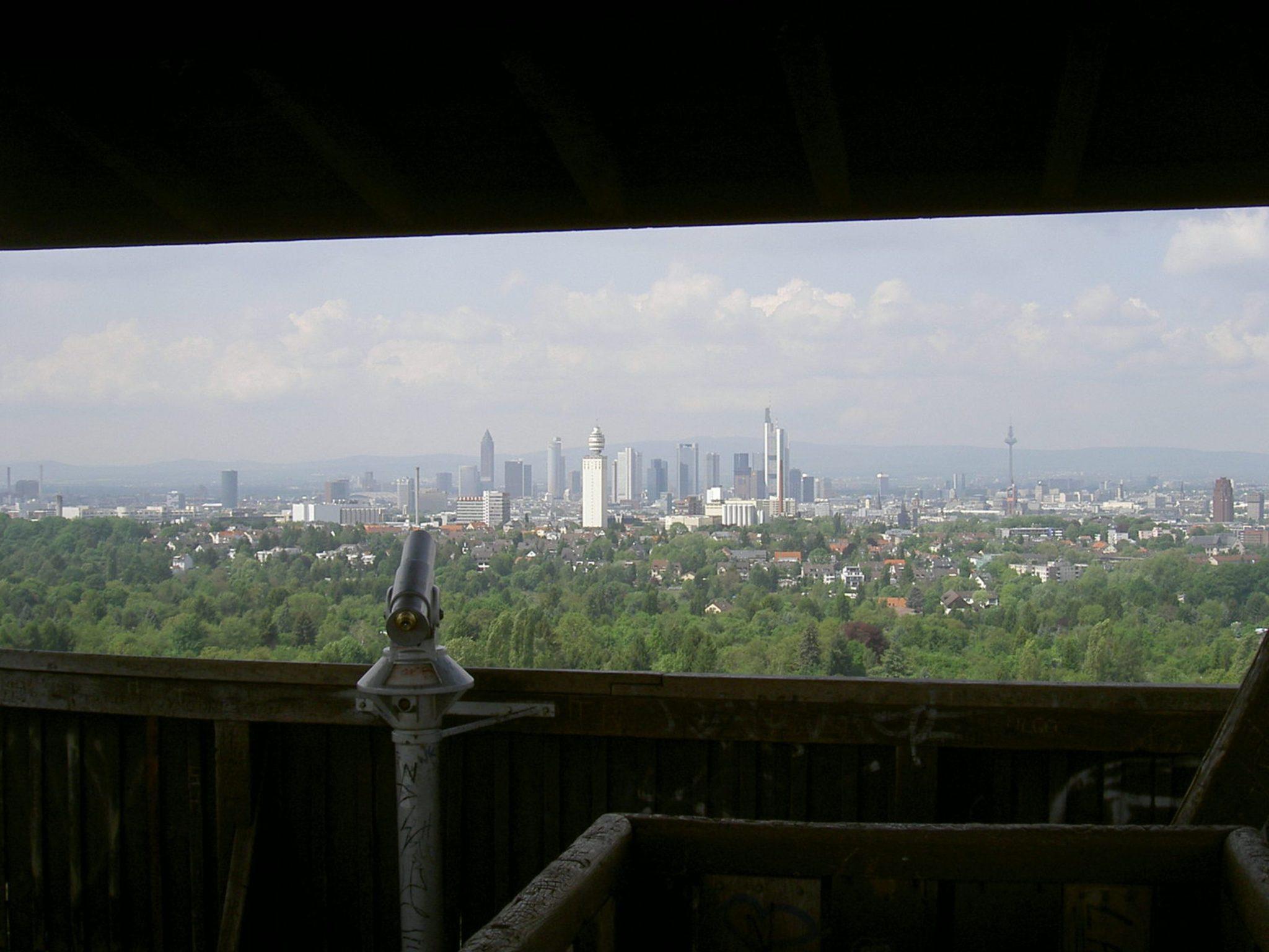 historisches museum frankfurt: Blick vom Goetheturm,