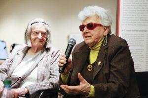 Gisela Feuerbach im Gespräch