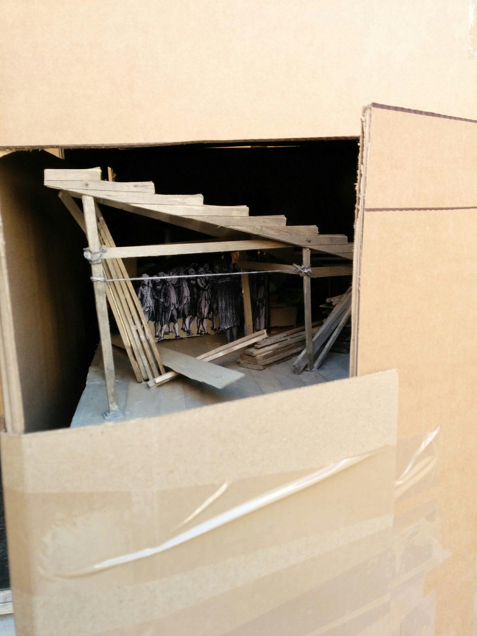 historisches museum frankfurt die Schneekugelmodelle kommen an