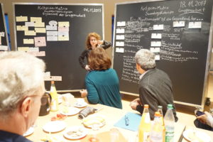 teilnehmer diskutieren