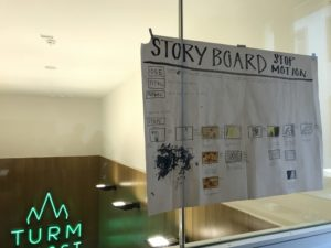 Historisches Museum Frankfurt: Stop Motion Workshop Stadtlabor Digital Storyboard