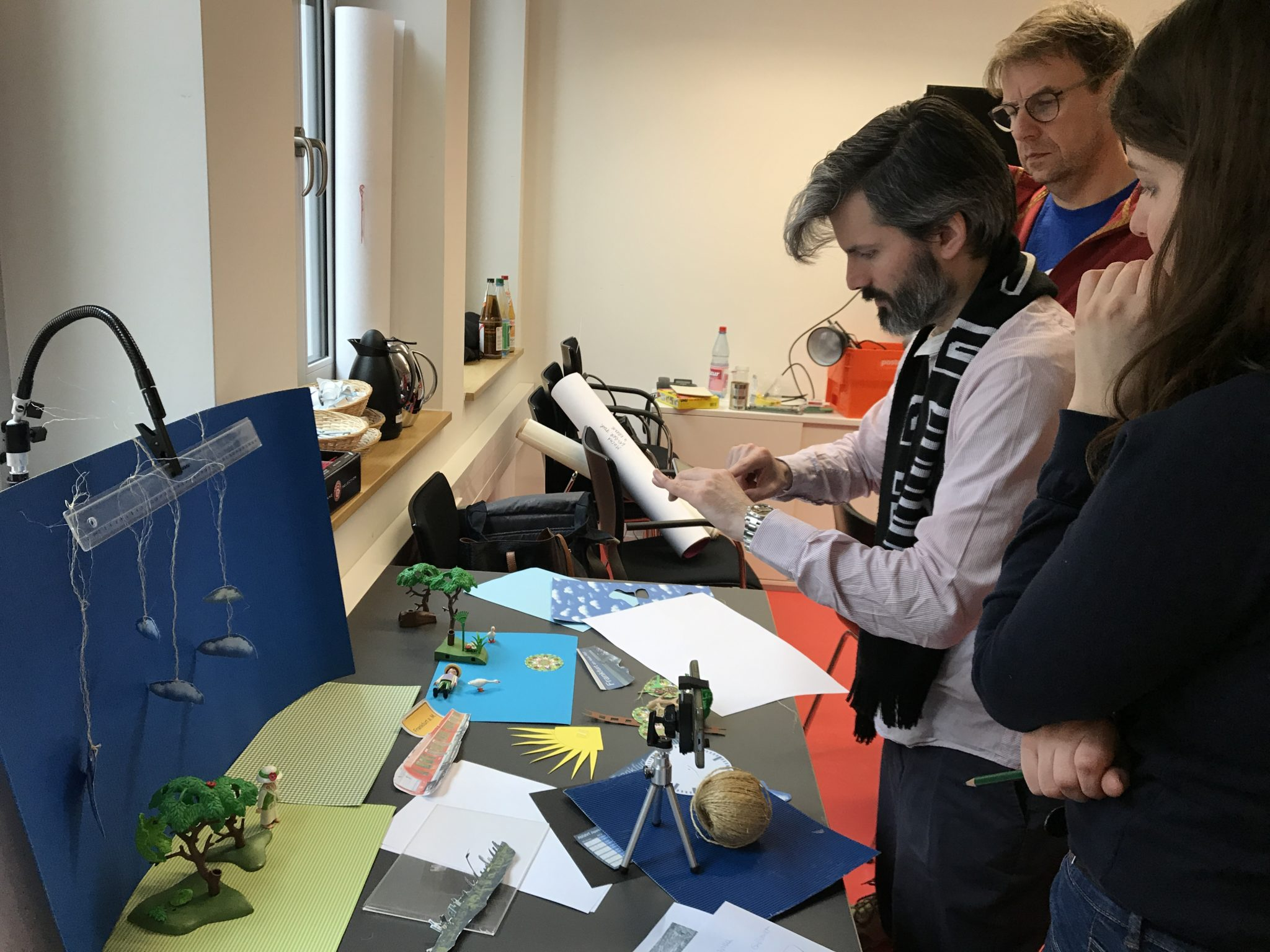 Historisches Museum Frankfurt: Stop Motion Workshop Stadtlabor Digital Lagebesprechung