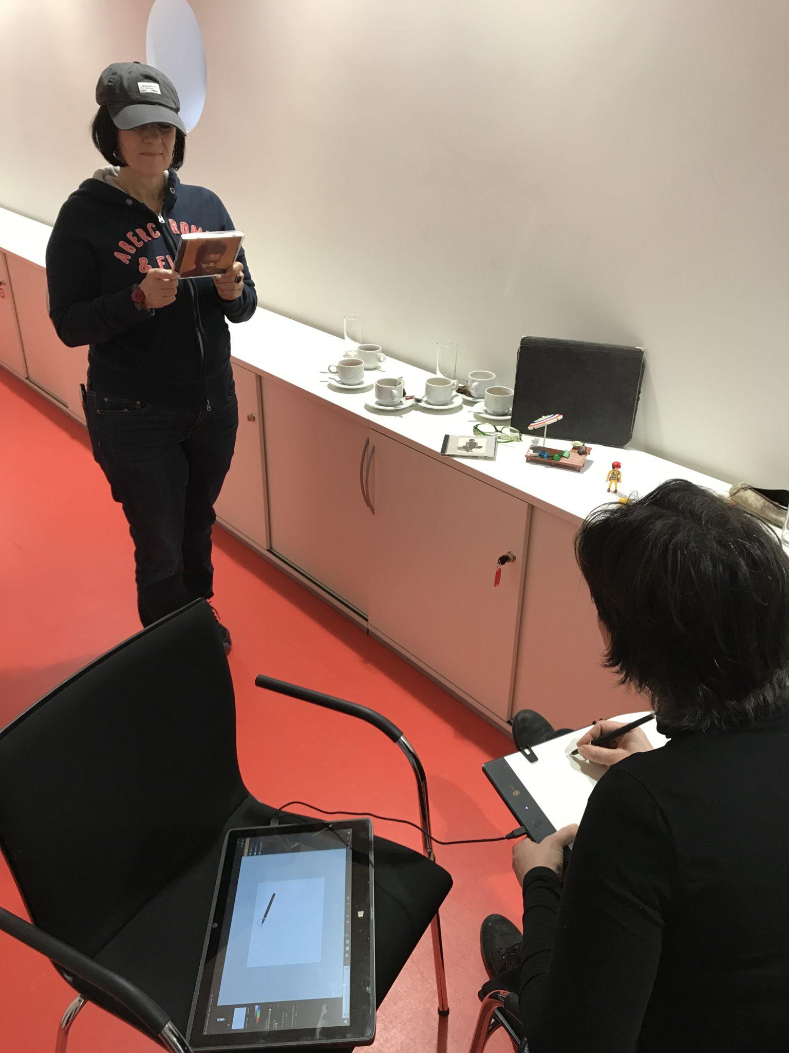 Historisches Museum Frankfurt: Stop Motion Workshop Stadtlabor Digital Skizze und Modell
