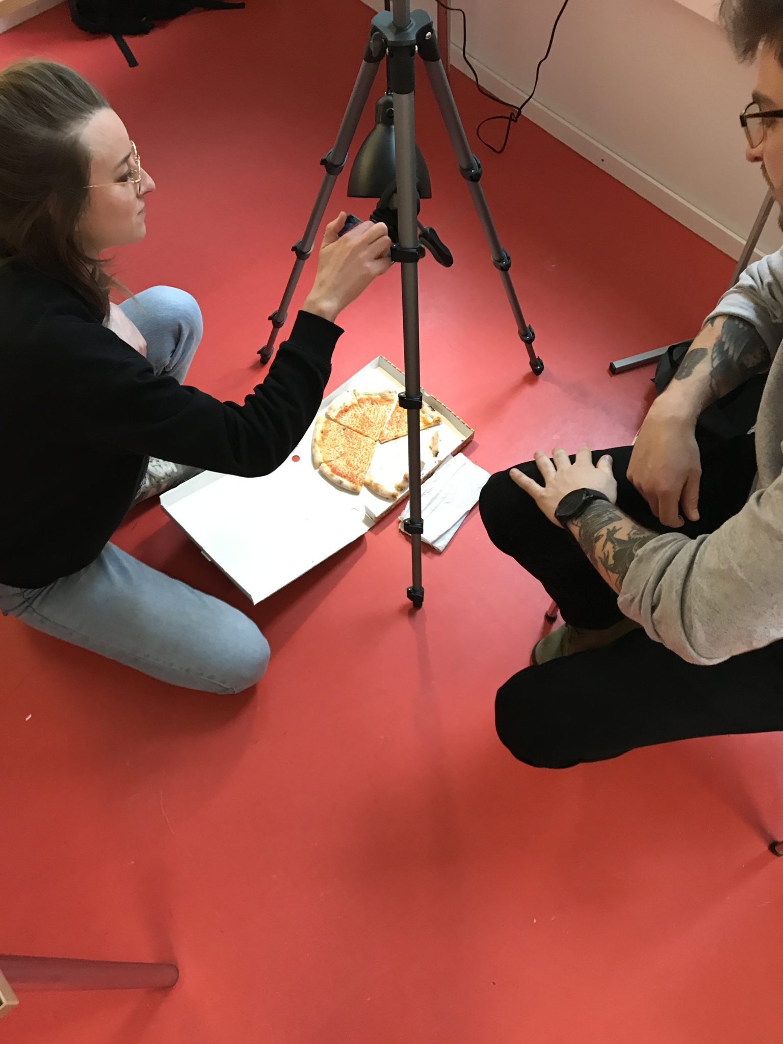 Historisches Museum Frankfurt: Stop Motion Workshop Stadtlabor Digital Pizzaszene