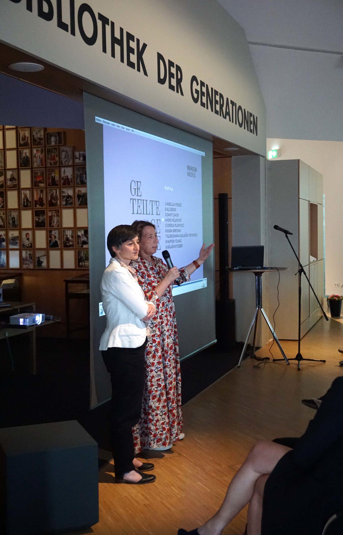 Historisches Museum Frankfurt Präsentation der Projektdokumentation Sammlungs.Check: Migration partizipativ sammeln