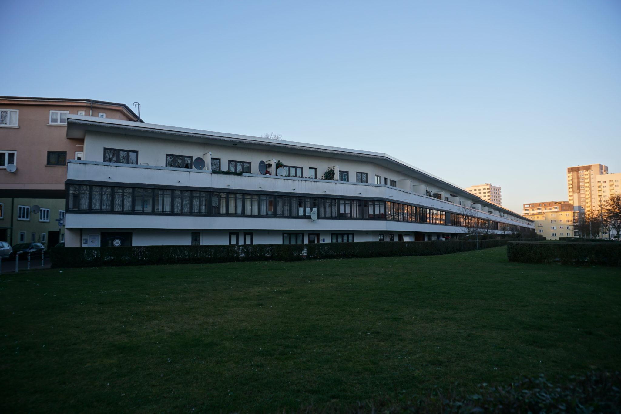 gebeäude - Feldforschung - Sachsenhausen, Heimatsiedlung