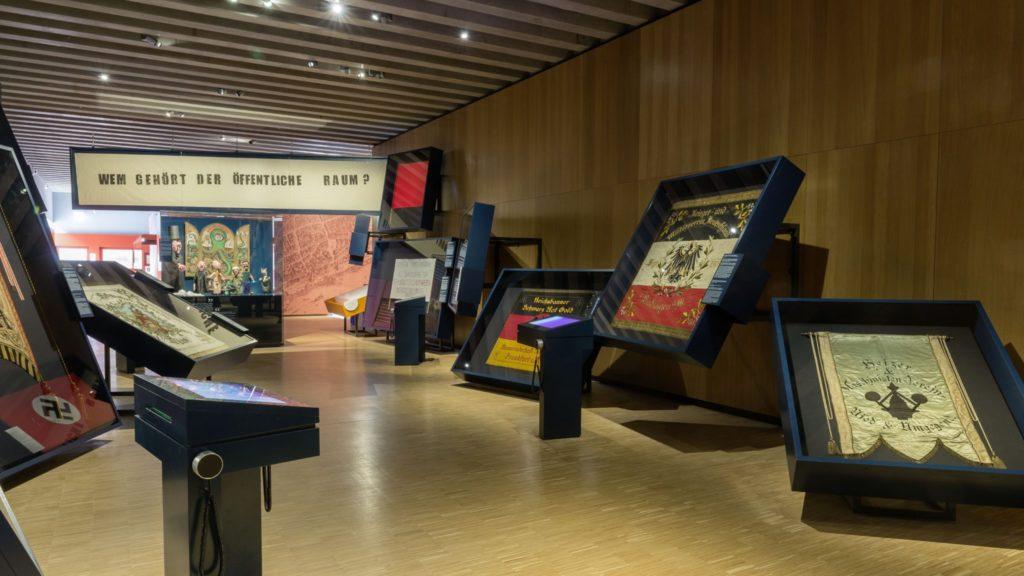 Historisches-Museum-Frankfurt_Fahnengalerie-in-Frankfurt-Einst