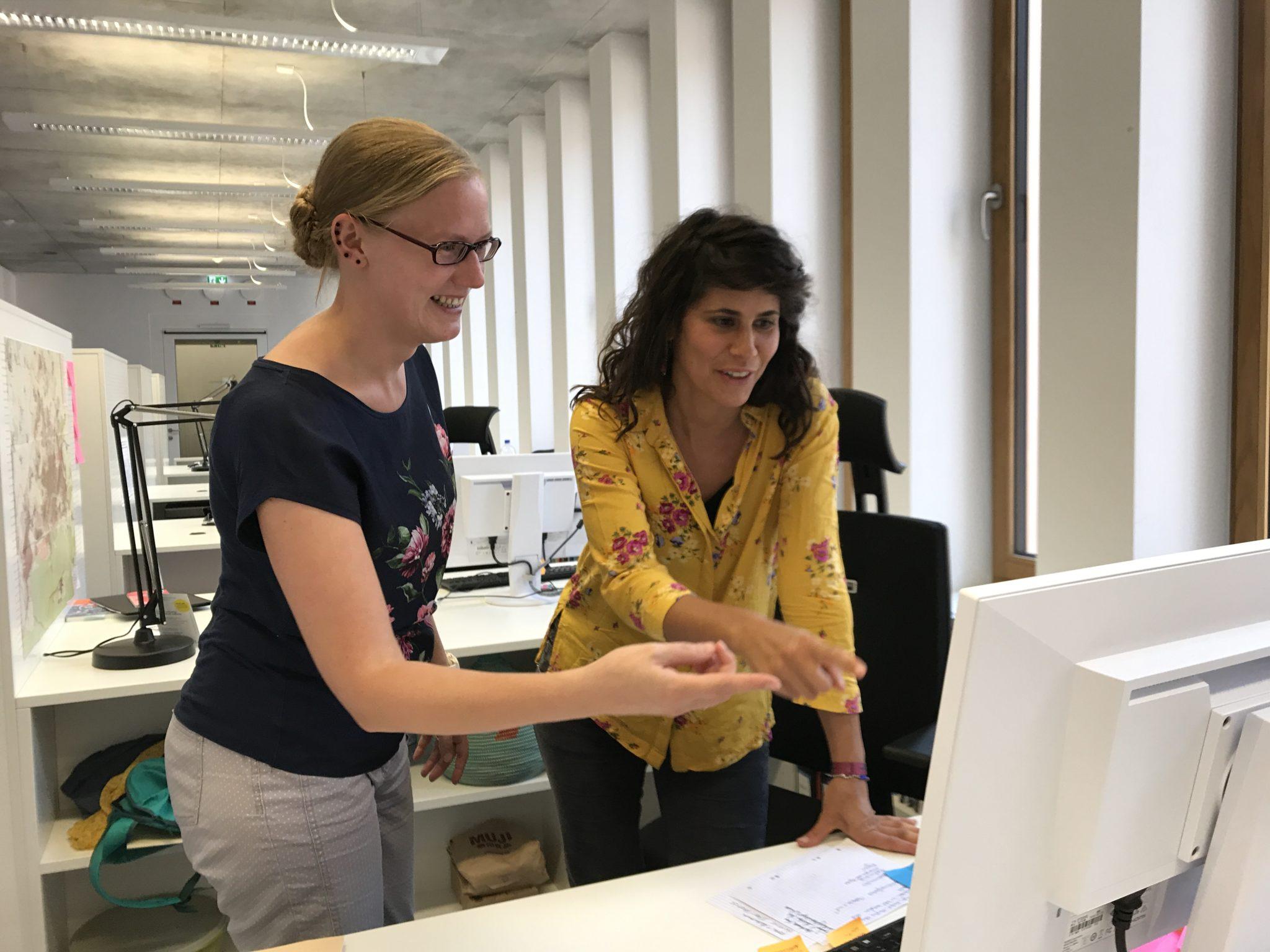 historisches museum frankfurt: Die neuen Mitarbeiterinnen