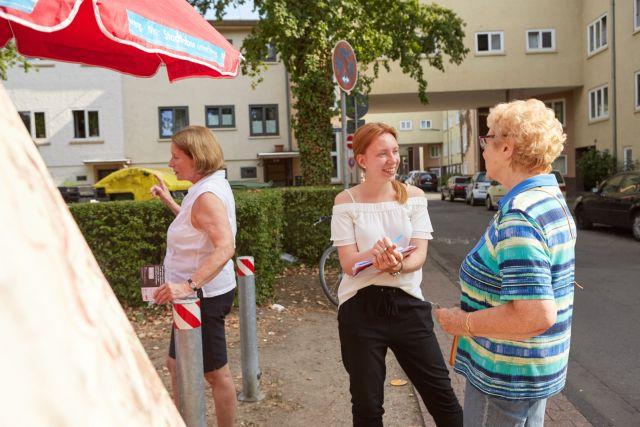 Feldforschung Heimatsiedlung – Befragung der Bewohnerinnen und Bewohner