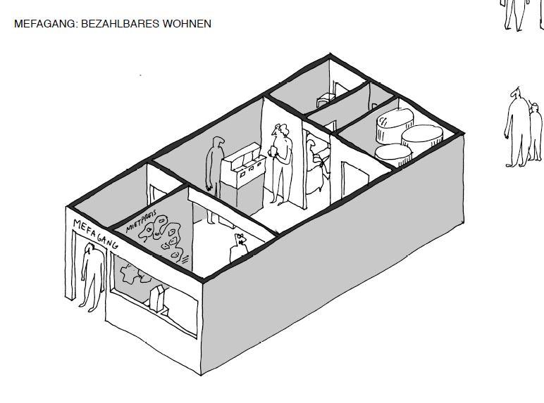 Blick in ein Ausstellungsmodul